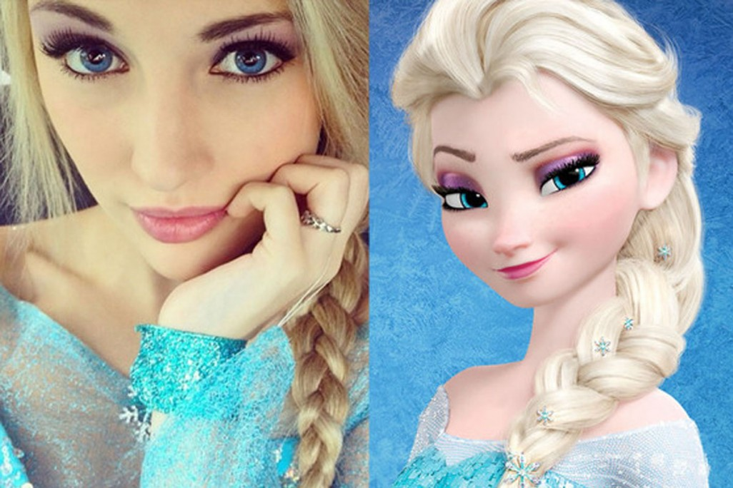 10 Surprising Things About 'Frozen' Elsa Look-Alike