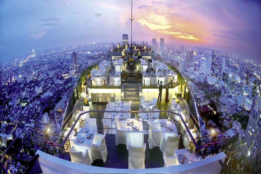 Vertigo Rooftop Bar - Banyan Tree Hotel, Bangkok