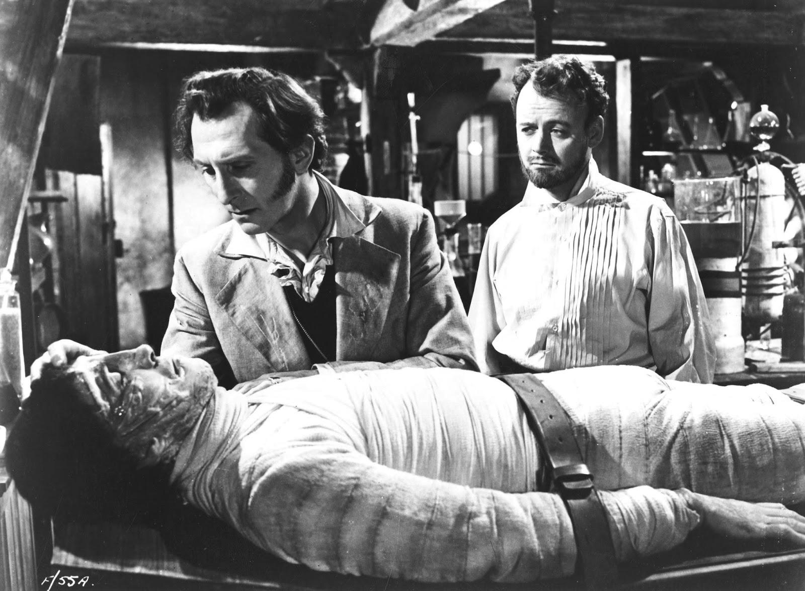 5.  The curse of Frankenstein 2