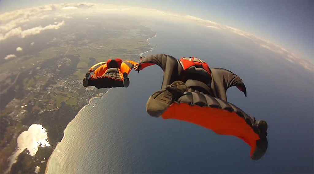 10. Wingsuit Flying