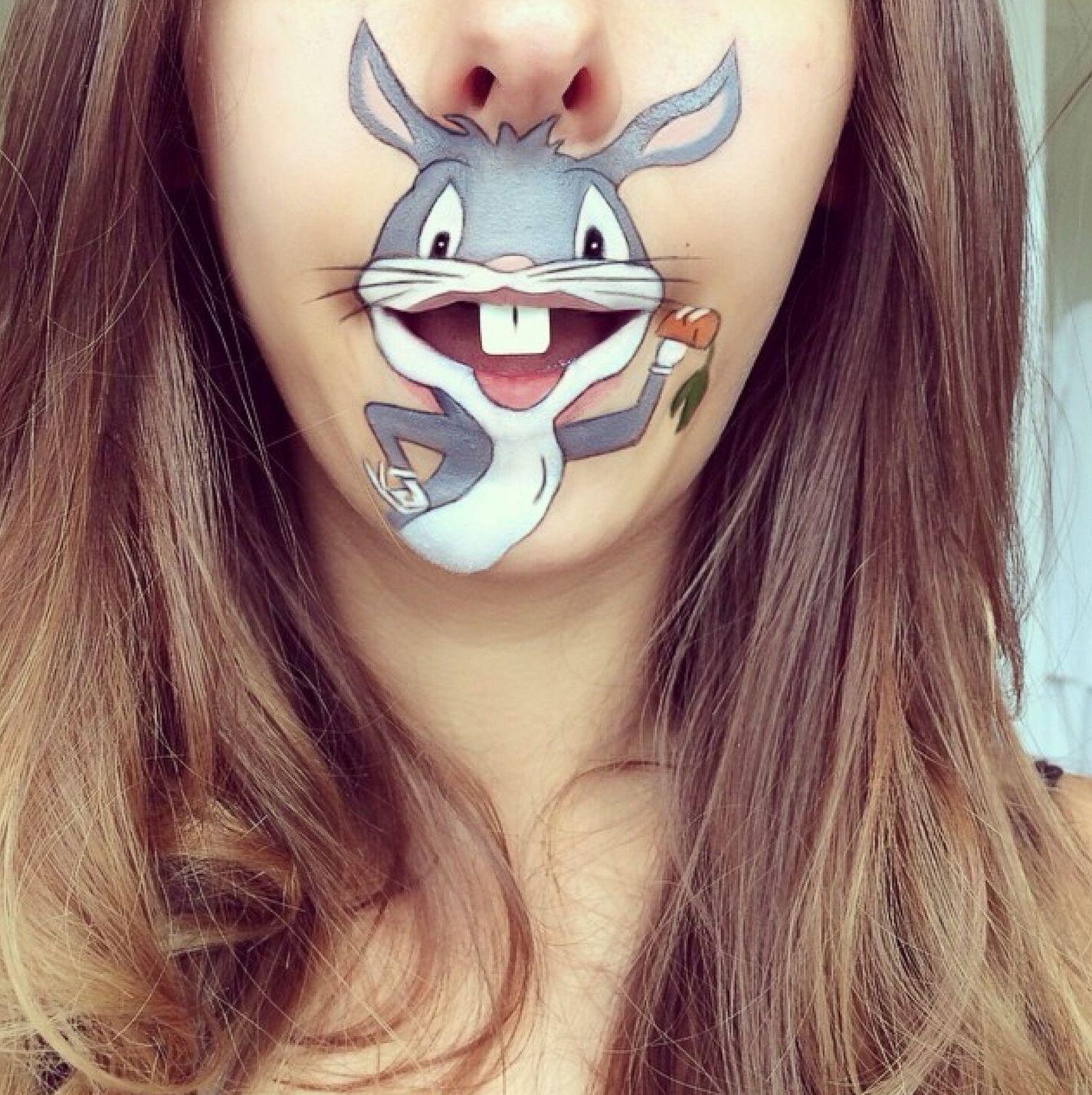 Amazing Cartoon Lip-Art By Laura Jenkinson 16