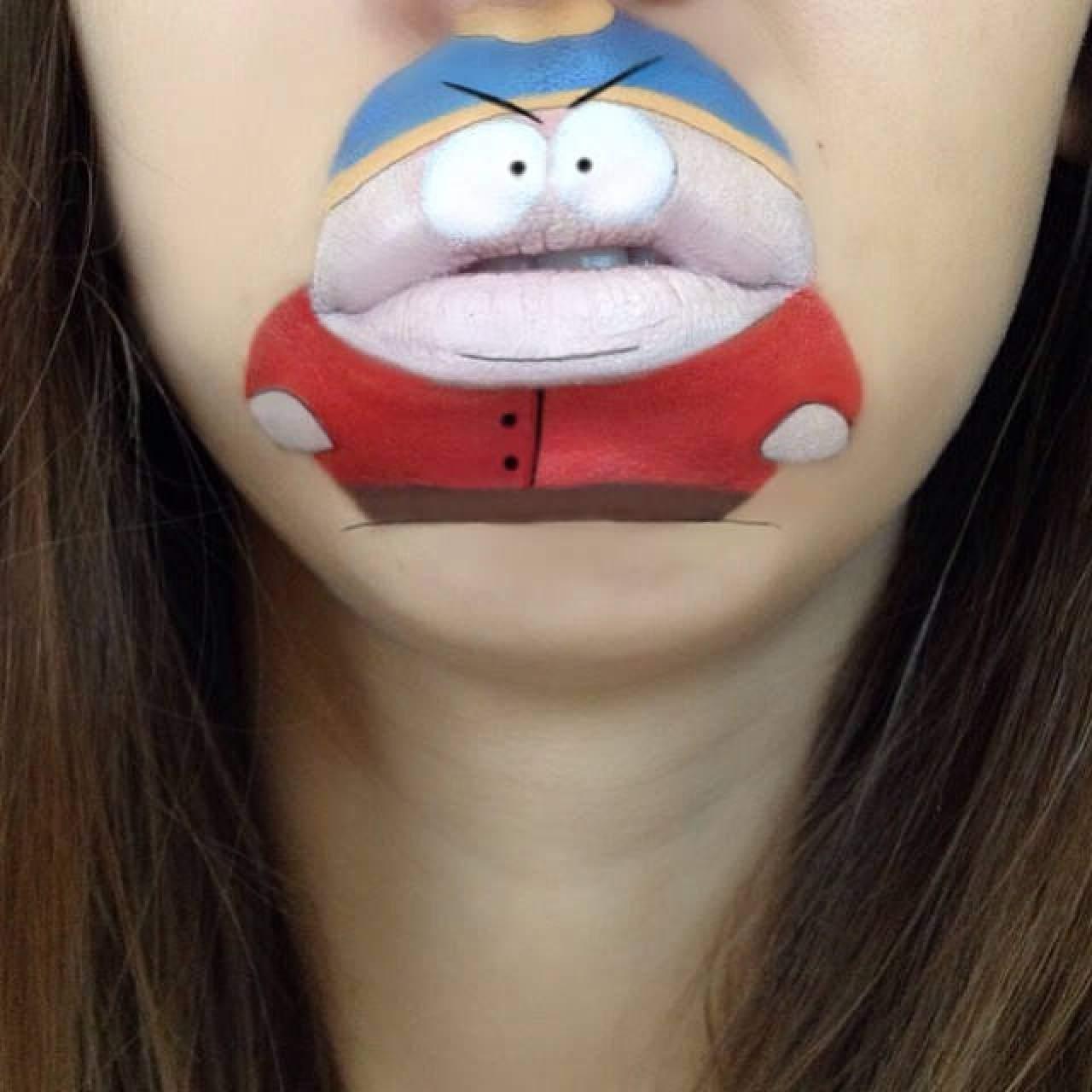 Amazing Cartoon Lip-Art By Laura Jenkinson 18
