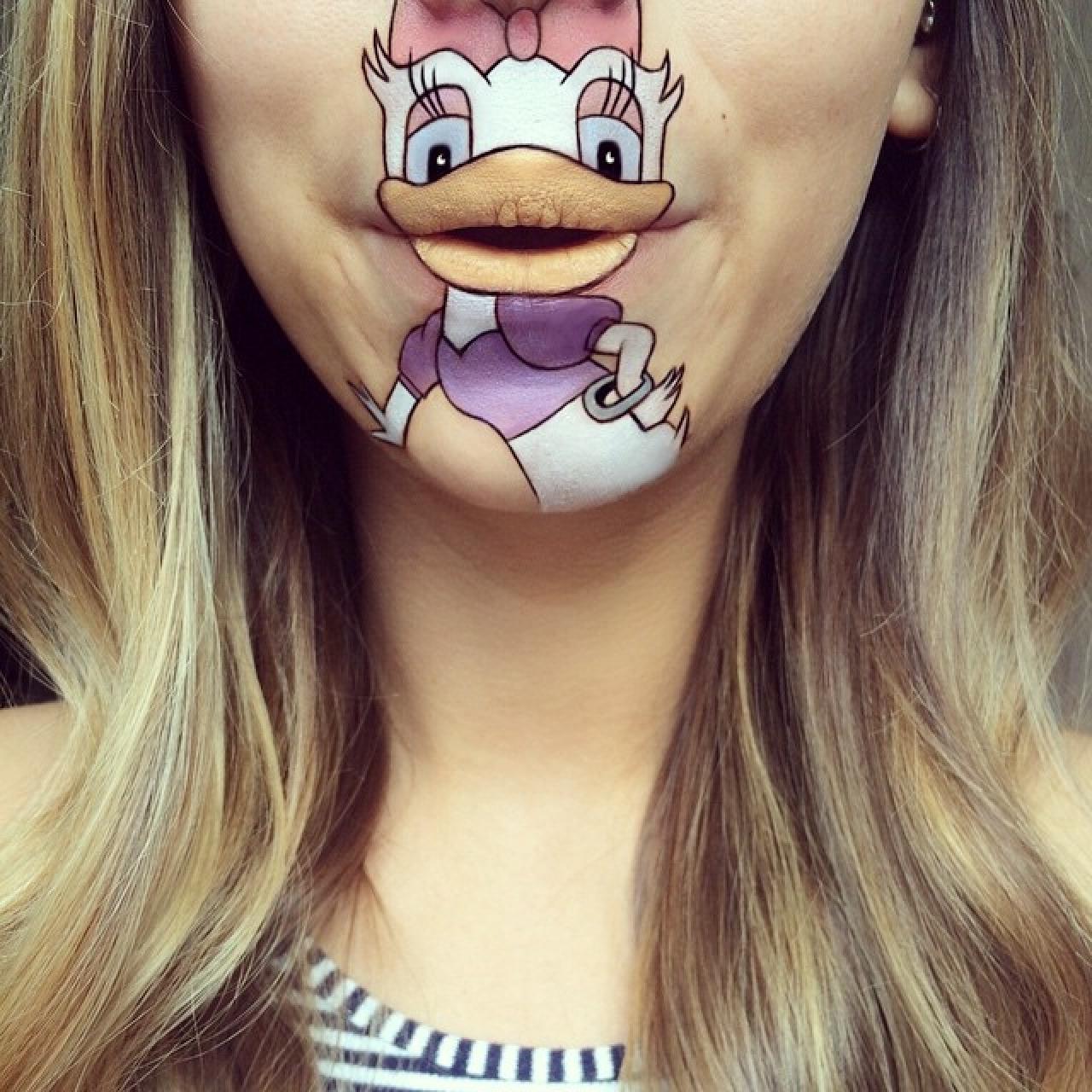 Amazing Cartoon Lip-Art By Laura Jenkinson 21