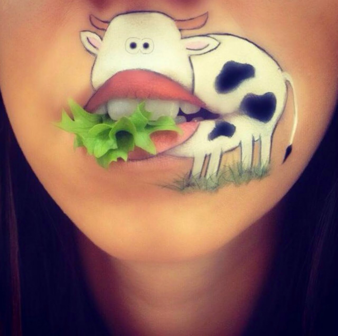 Amazing Cartoon Lip-Art By Laura Jenkinson 25