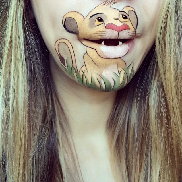 Amazing Cartoon Lip-Art By Laura Jenkinson 3