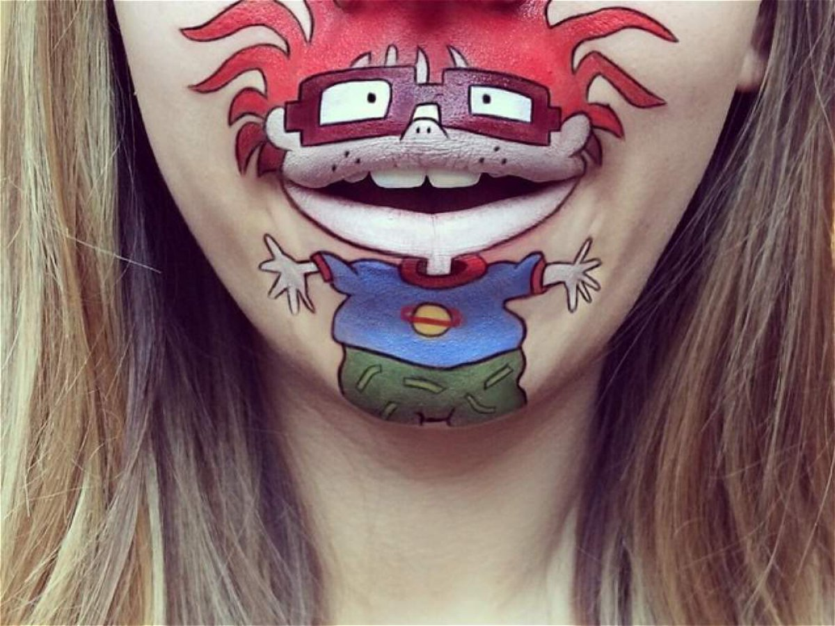 Amazing Cartoon Lip-Art By Laura Jenkinson 9