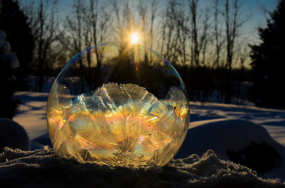 Mysterious Frozen Bubbles By Hope Carter 2