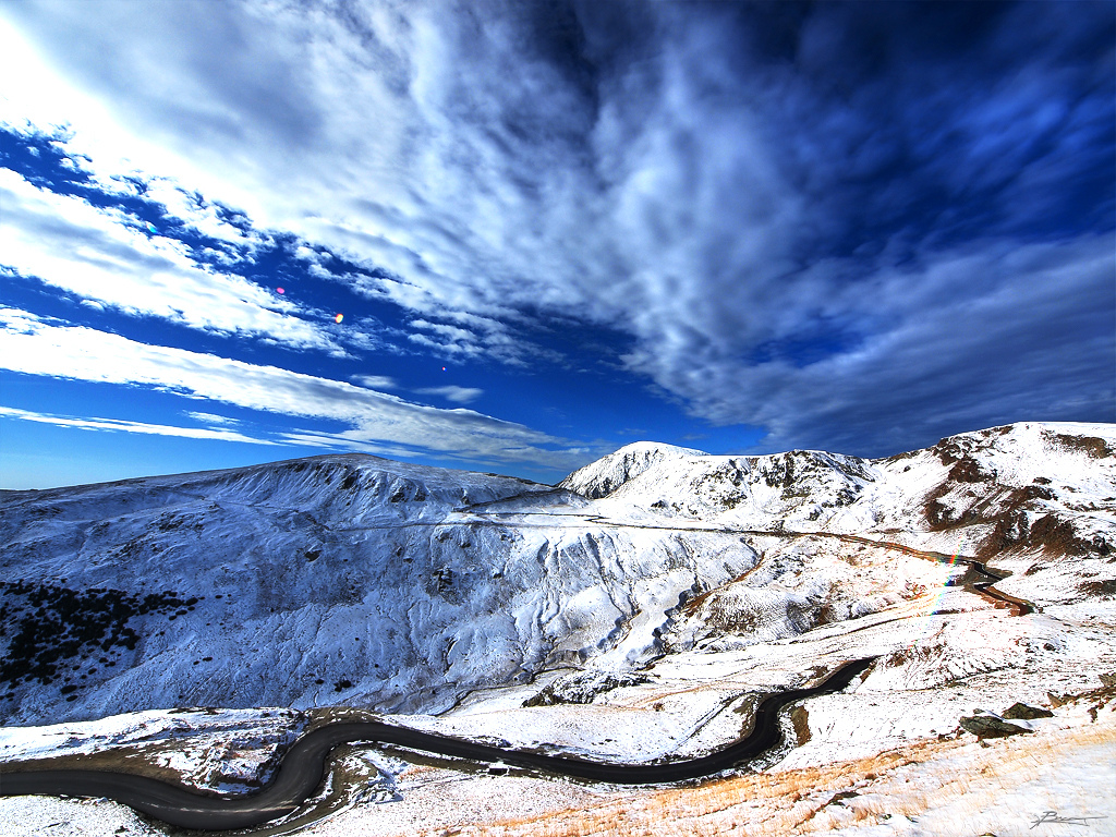 2) The Transalpina Road, Romania 3