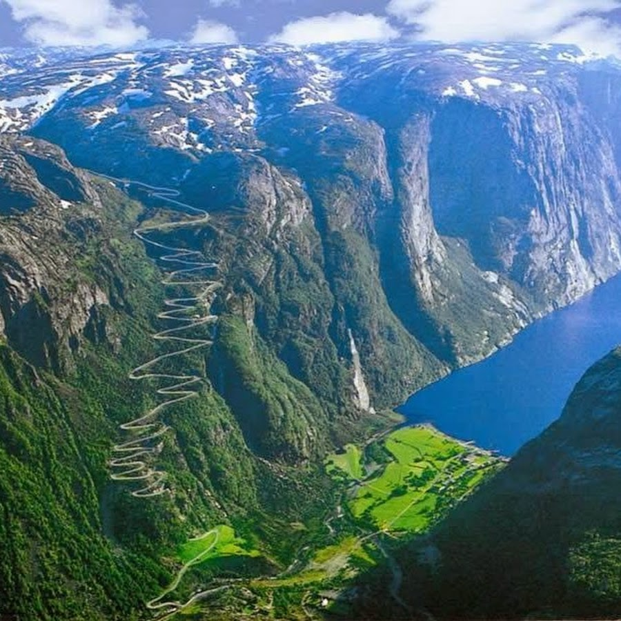 3) Lysefjorden Road, Norway 2
