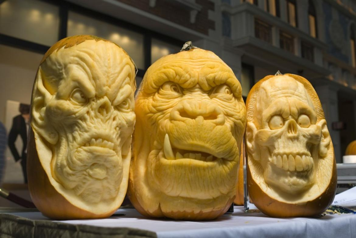 Mindblowing Halloween Pumpkin Carvings 2
