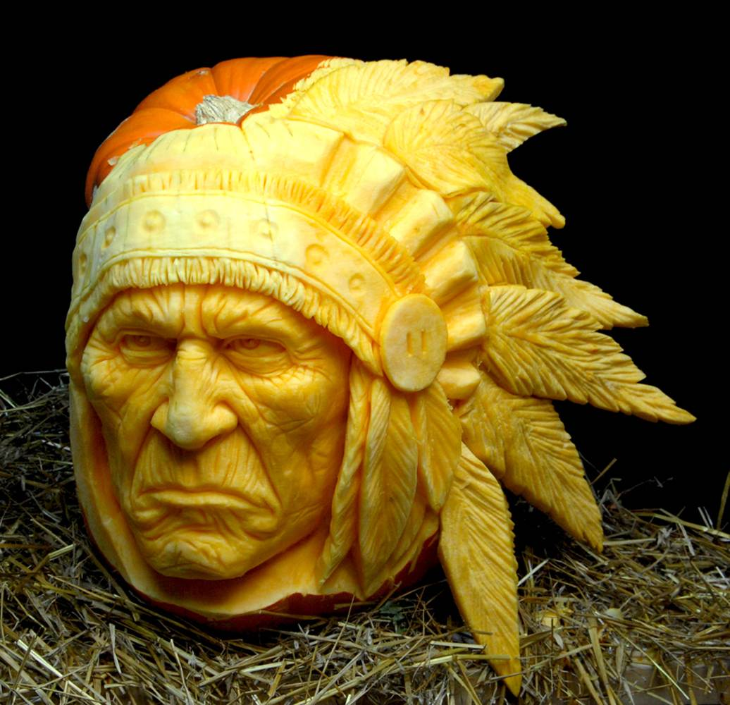 Mindblowing Halloween Pumpkin Carvings 3