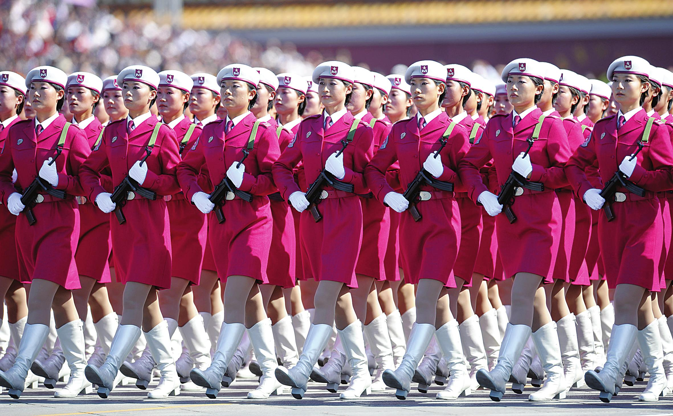 Why Chinese Female Soldiers Can Rock Any Parade 1