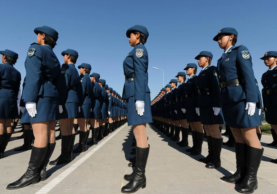 Why Chinese Female Soldiers Can Rock Any Parade 4