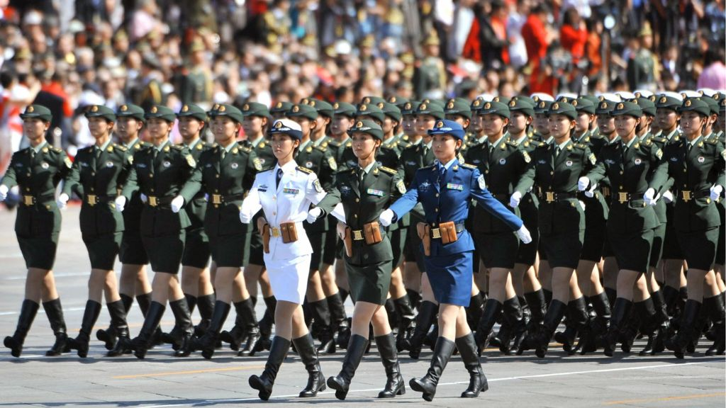 Why Chinese Female Soldiers Can Rock Any Parade 7