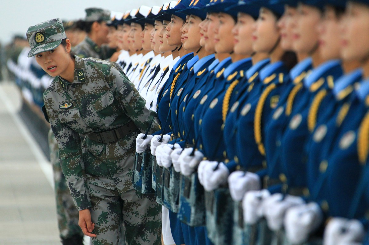 featured Why Chinese Female Soldiers Can Rock Any Parade