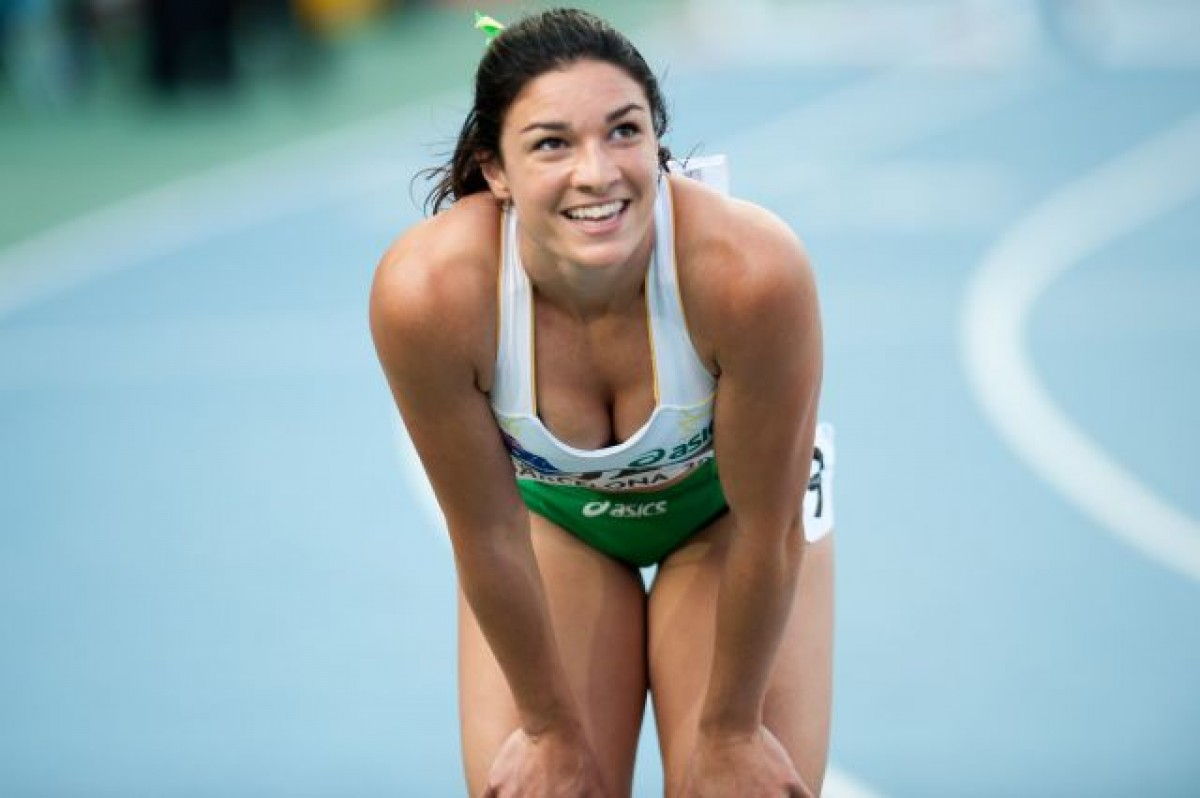 Смотреть горячие спортсменки, Порно со спортсменками, секс с голыми гимнастками 6 фотография