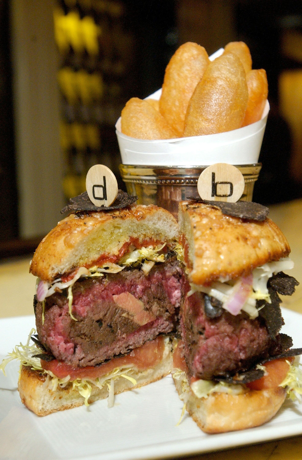 7. DB Royale Double Truffle Burger