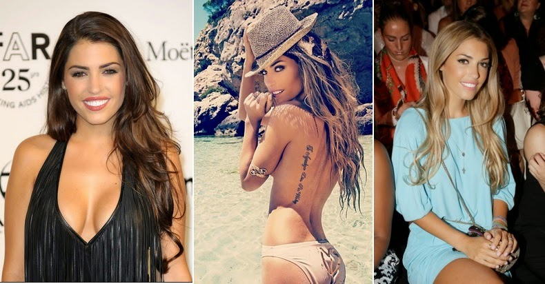 50 Hottest Wags Footballers Wives & Girlfriends
