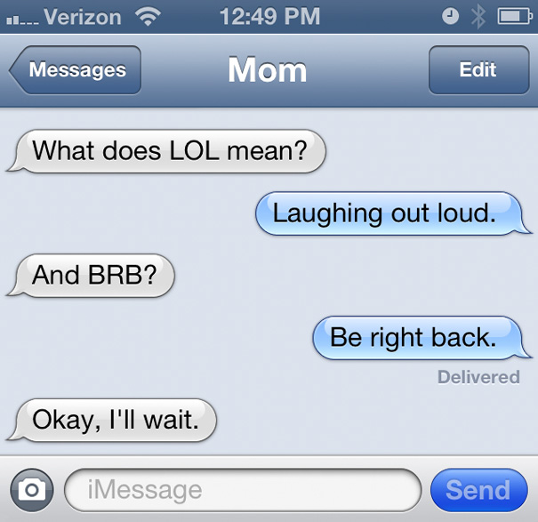 23 hilarious mom text fails brain berries page 8 for Roflcopter text