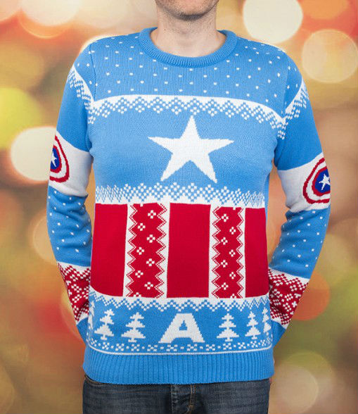 geeky-ugly-christmas-sweaters-4-marvel-captain-america
