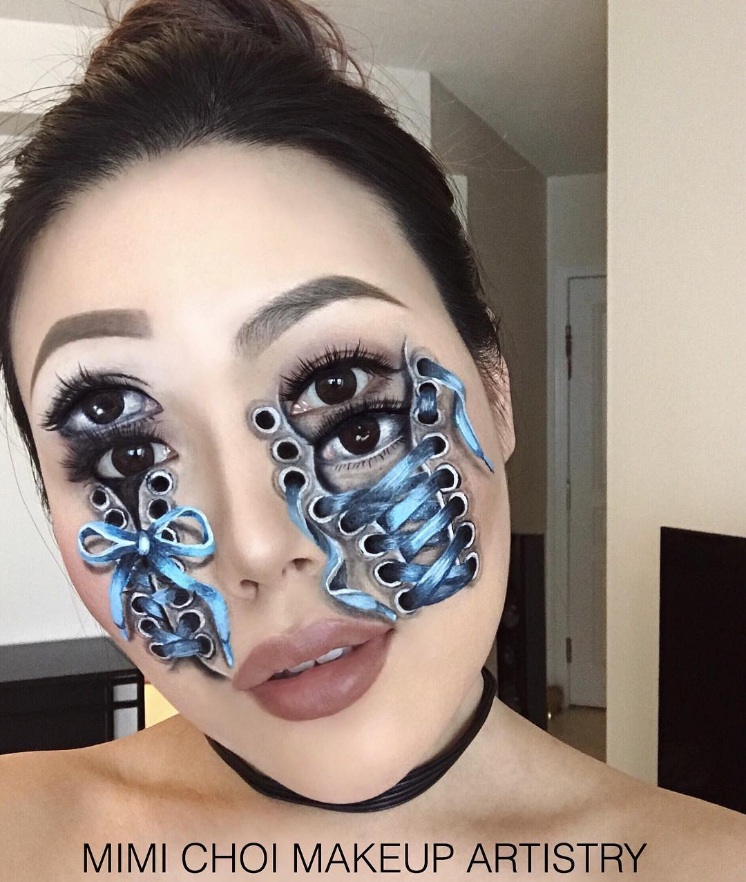 Horrifyingly Mind-Blowing Makeup of Mimi Choi   Brain Berries