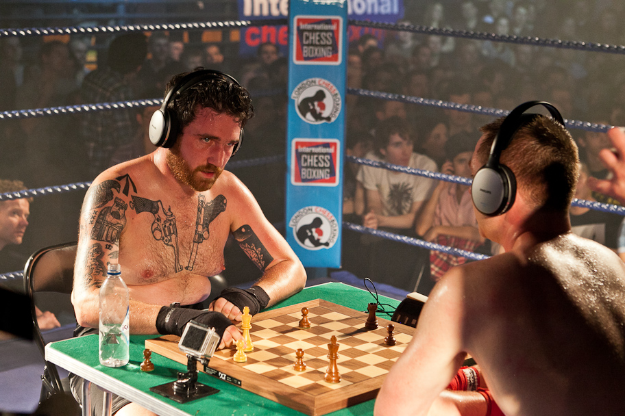 1. Chess boxing