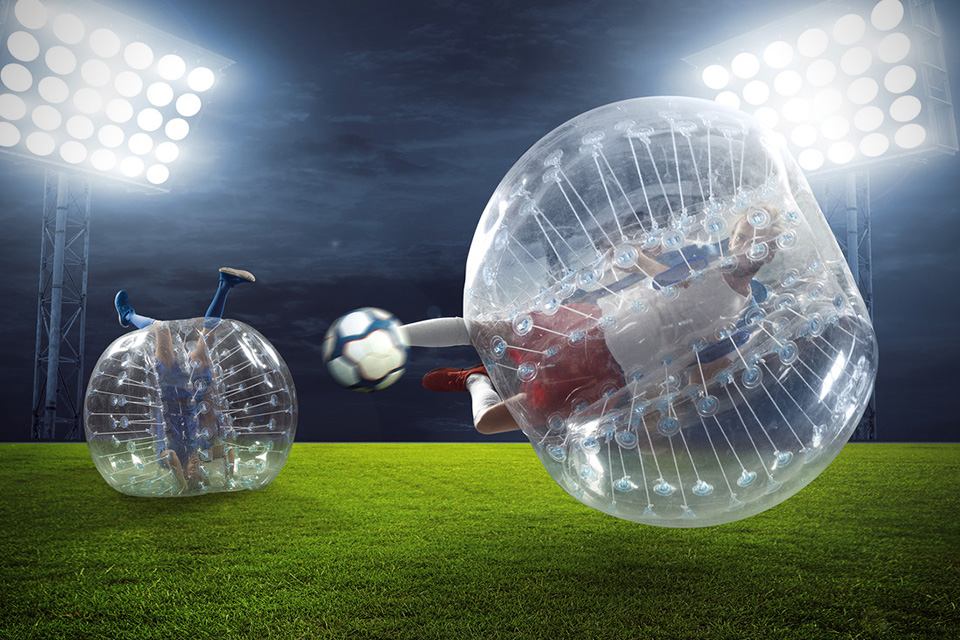 10. Bubble Football-Soccer