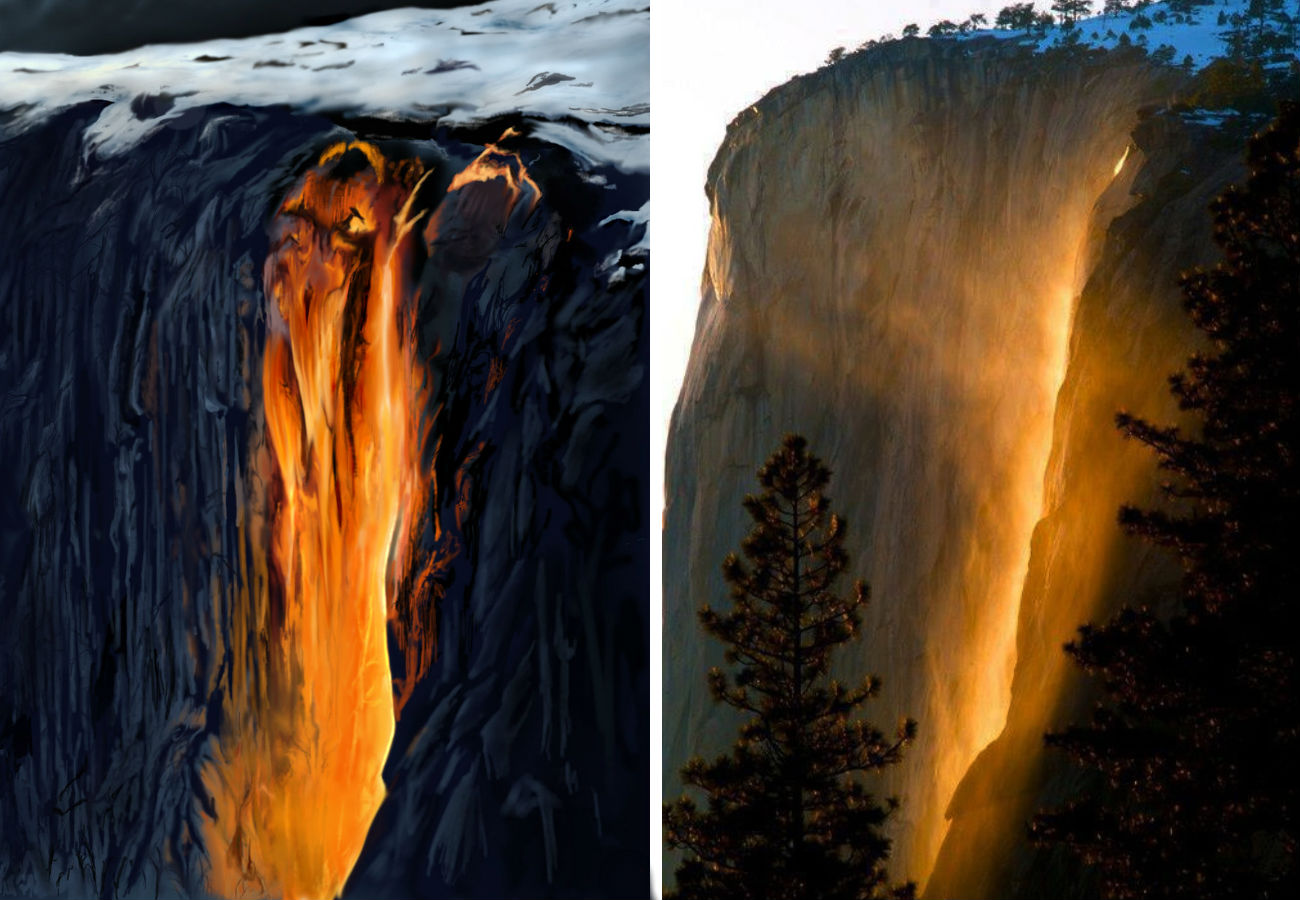 2. Horsetail Fall
