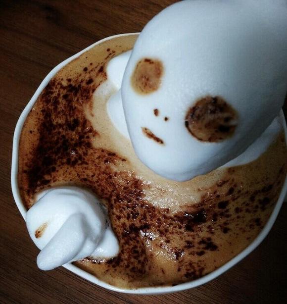 The amazing world of coffee art!