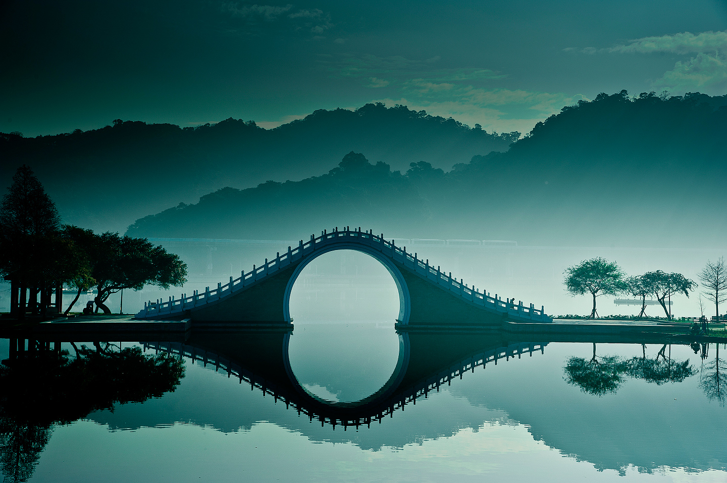 10. The Moon Bridge, Taipei, Taiwan 1