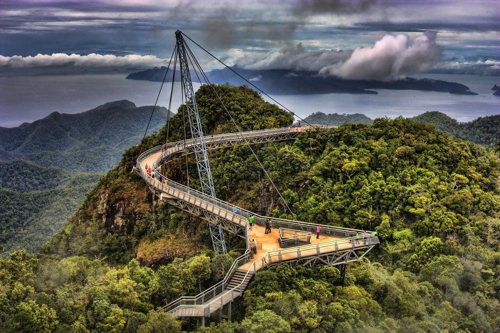 11. Langkawi Sky Bridge, Kedah, Malaysia 1