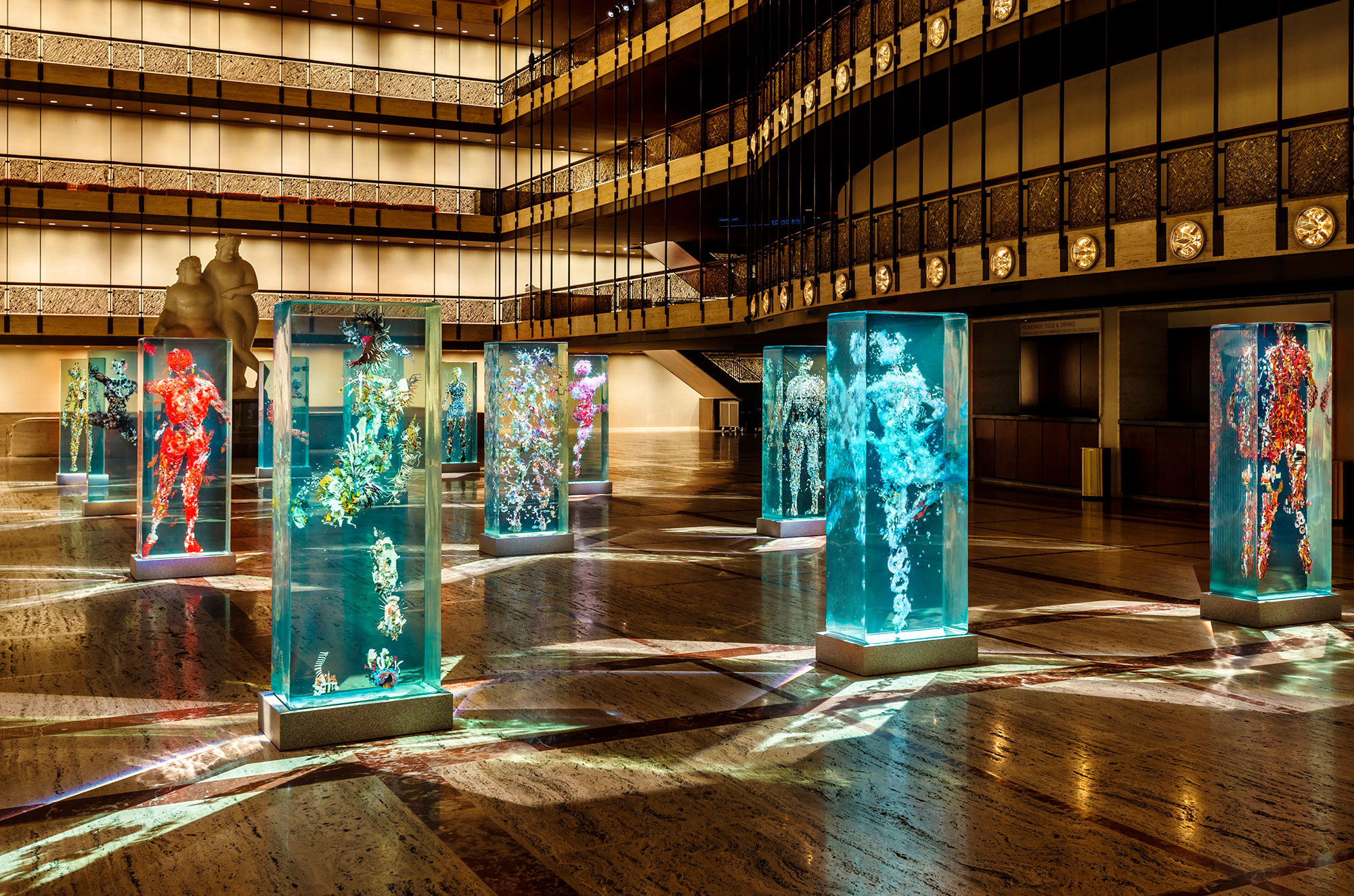 3D Collaged Figures Encased In Glass By Dustin Yellin 5