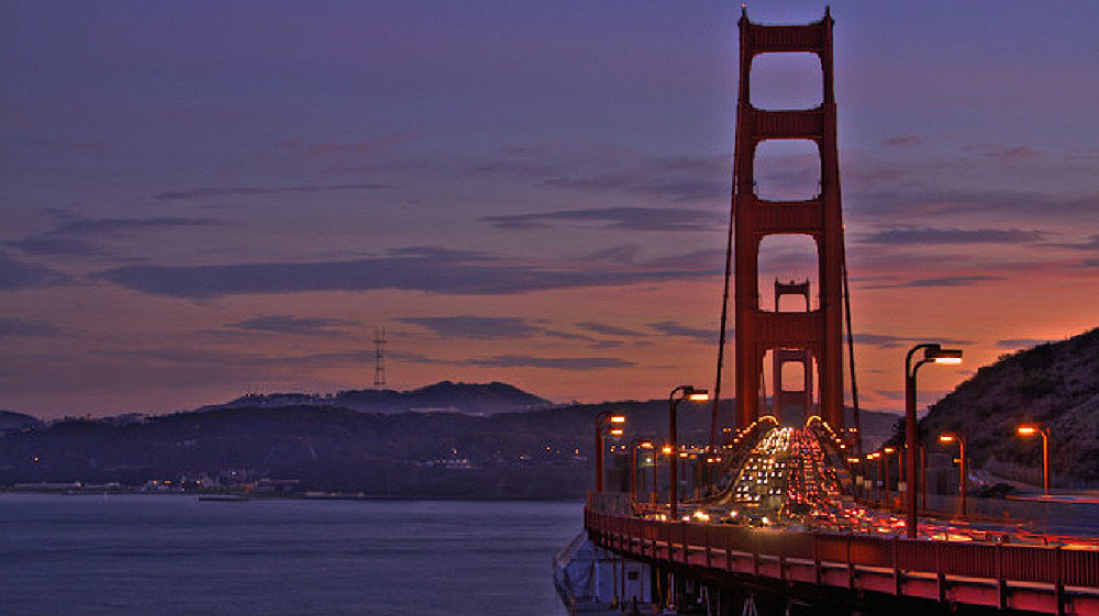 4. Golden Gate Bridge, San Francisco, USA 3