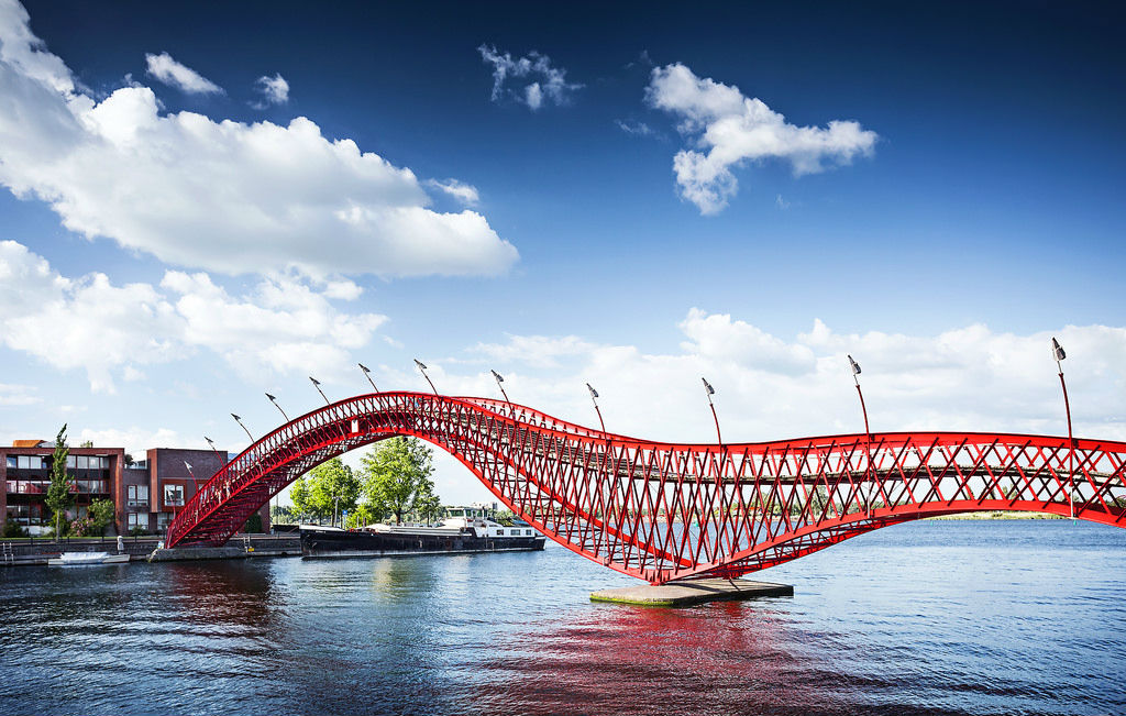 7. The Python Bridge, Amsterdam, Netherlands 1