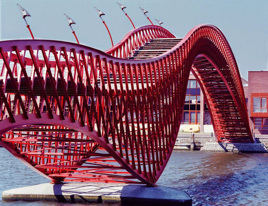 7. The Python Bridge, Amsterdam, Netherlands 3