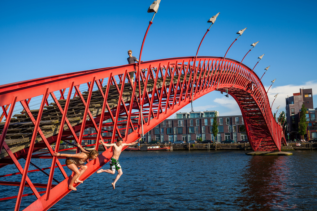 7. The Python Bridge, Amsterdam, Netherlands 4