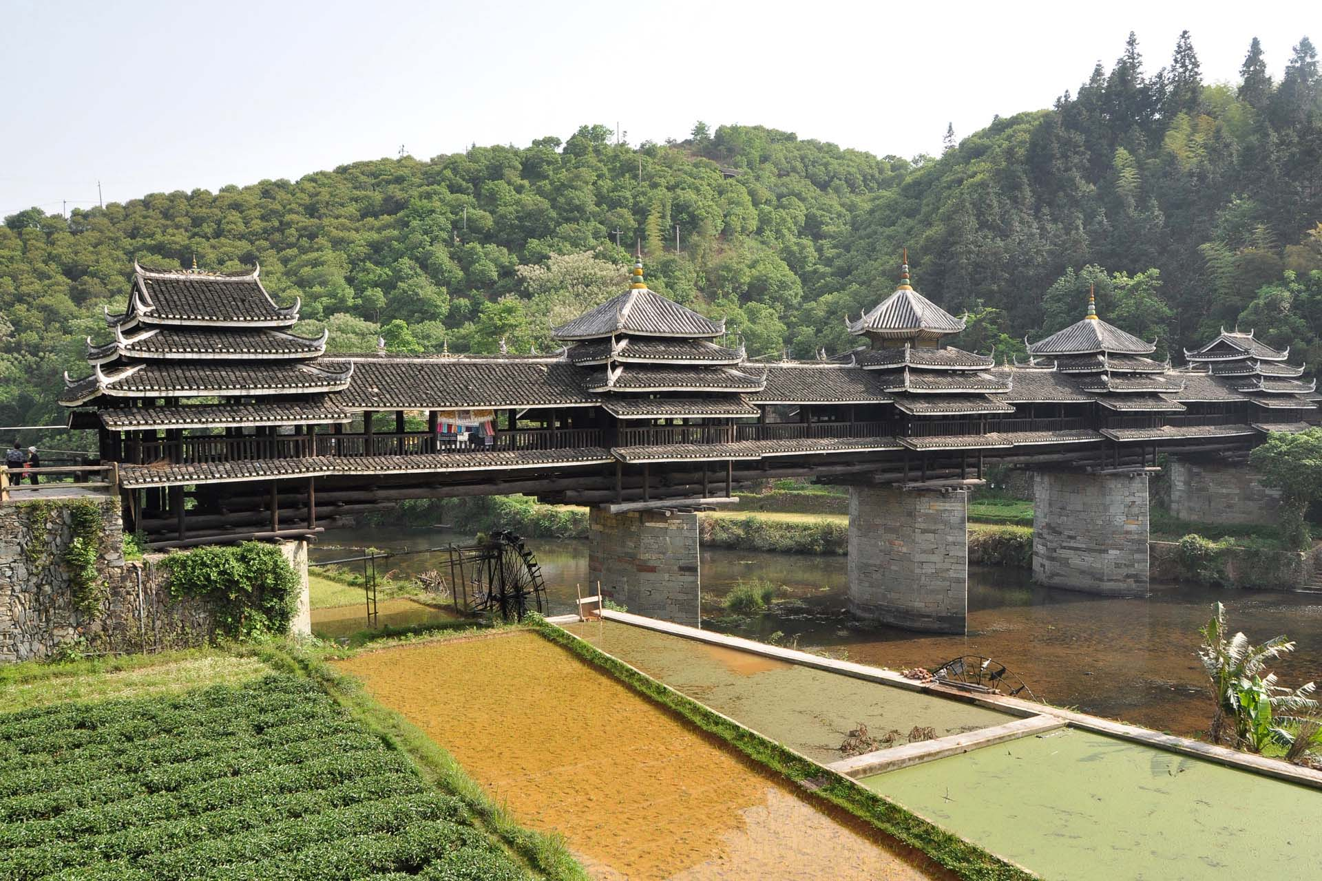 8. The Chengyang Wind And Rain Bridge, Sanjiang County, China 2