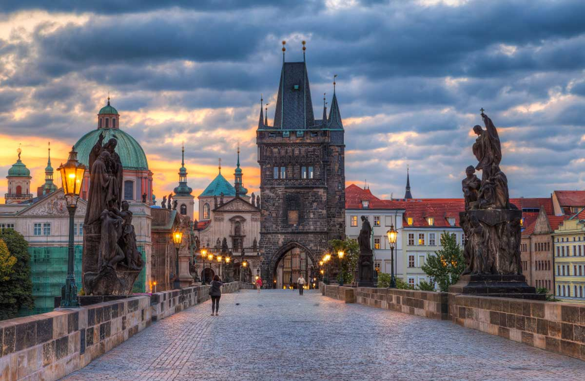 9. Charles Bridge, Prague, Czech Republic 1
