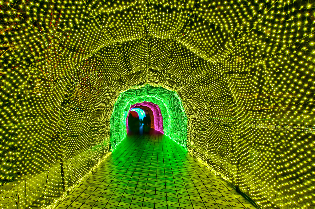 Japan's Glimmering Tunnel of Lights — Spectacular Winter Illuminations 2