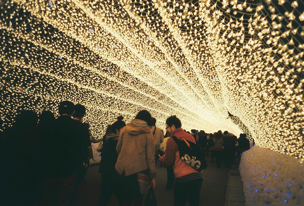 Japan's Glimmering Tunnel of Lights — Spectacular Winter Illuminations 4