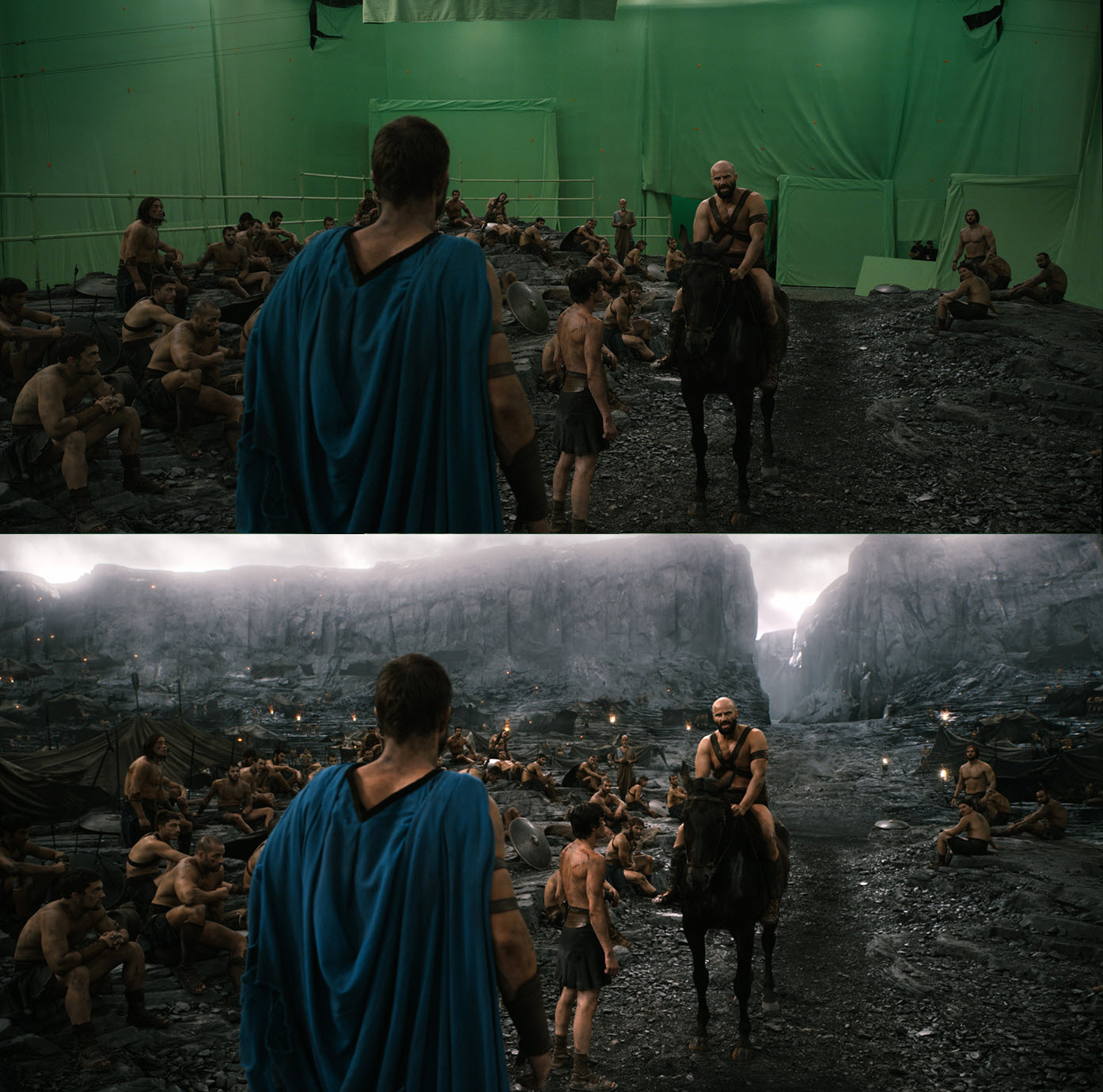 20 Before and After Comparisons of Movie Visual Effects 21