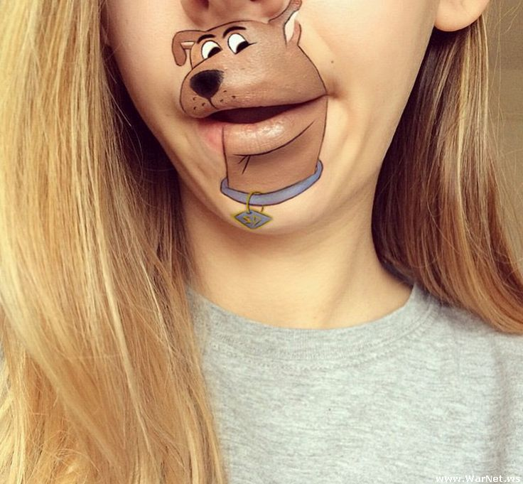 Amazing Cartoon Lip-Art By Laura Jenkinson 11