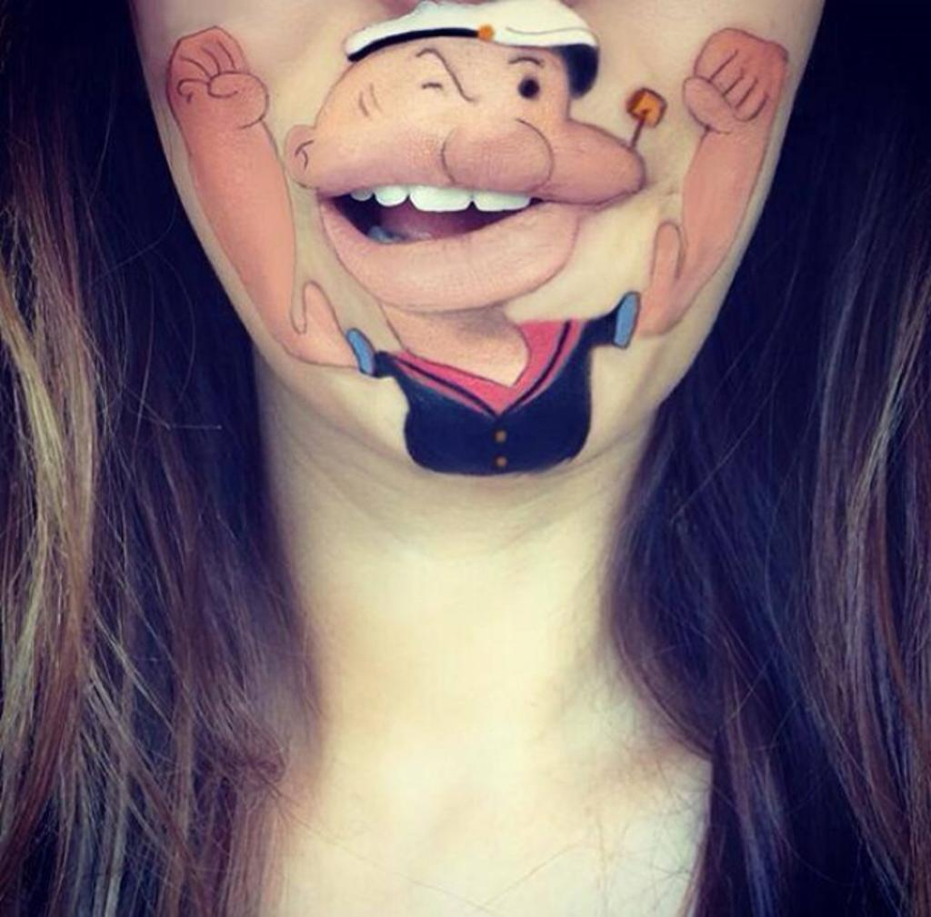 Amazing Cartoon Lip-Art By Laura Jenkinson 17