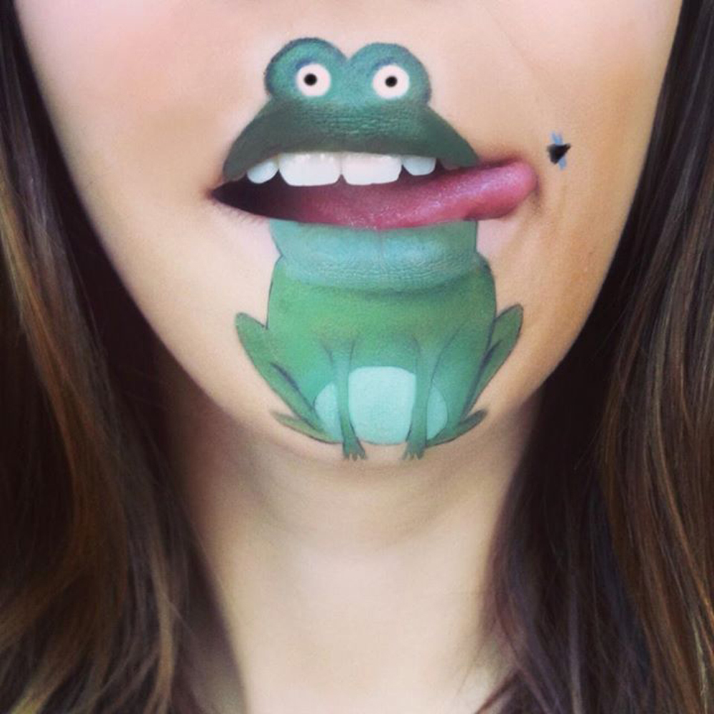Amazing Cartoon Lip-Art By Laura Jenkinson 22