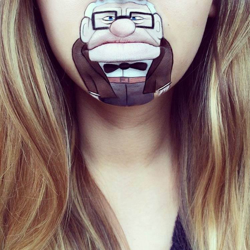 Amazing Cartoon Lip-Art By Laura Jenkinson 8