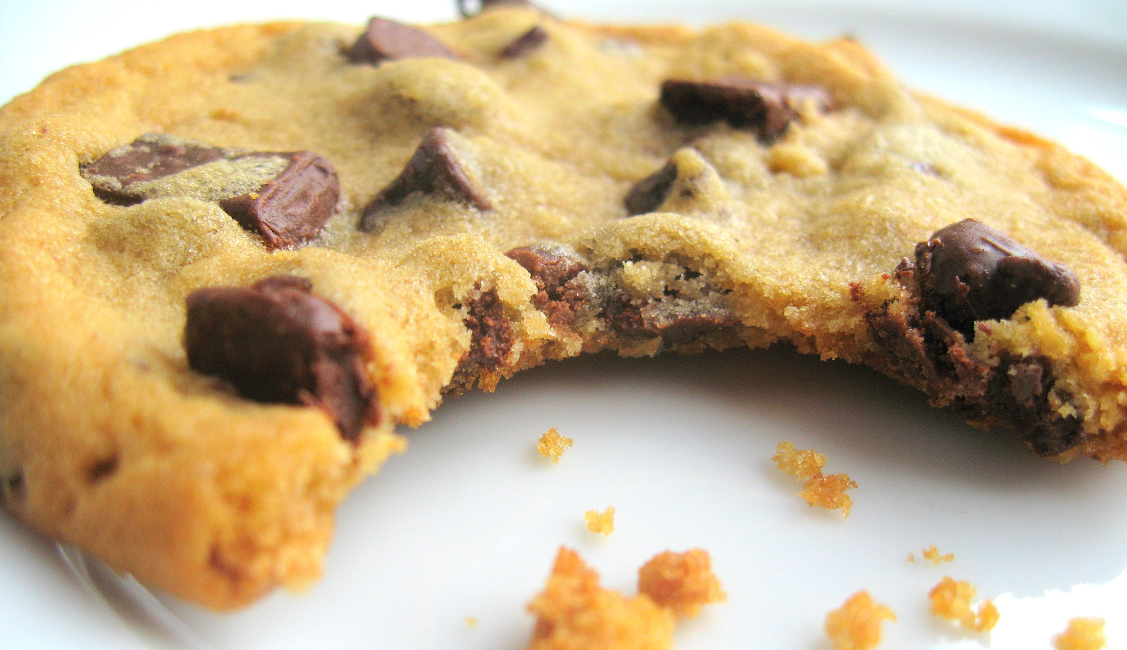 10. Chocolate-chip cookie