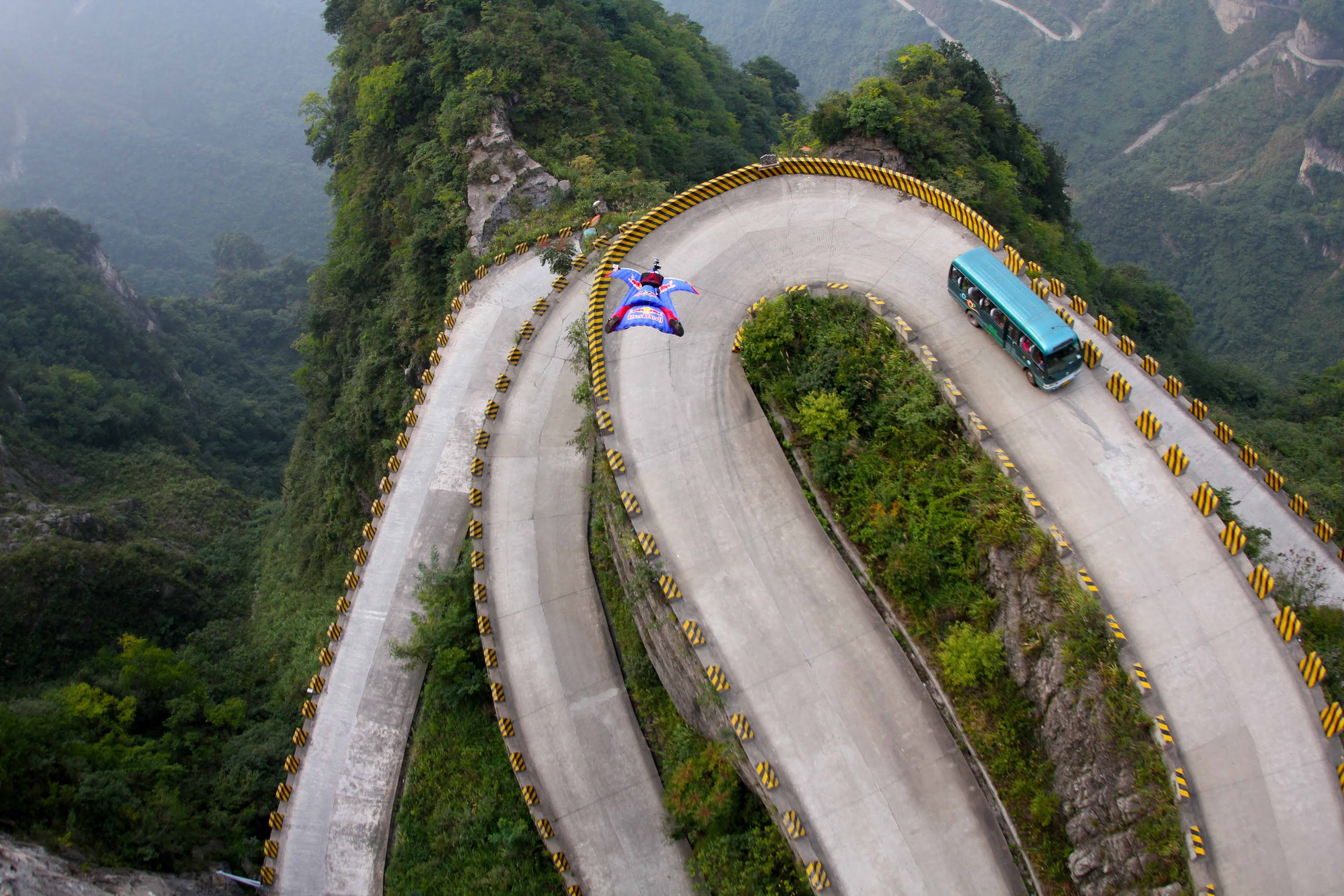 4) Tianmen Mountain Road, Hunan, China 3