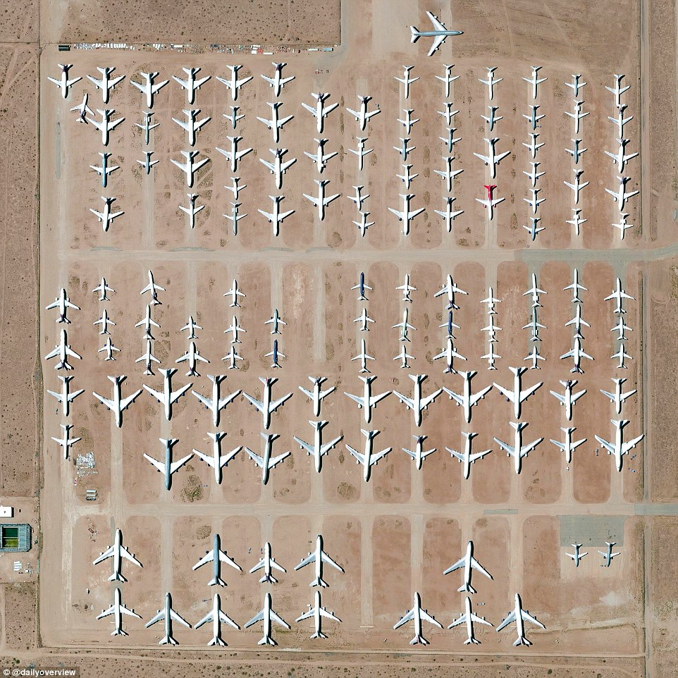 4. Southern California Logistics Airport, Victorville, US