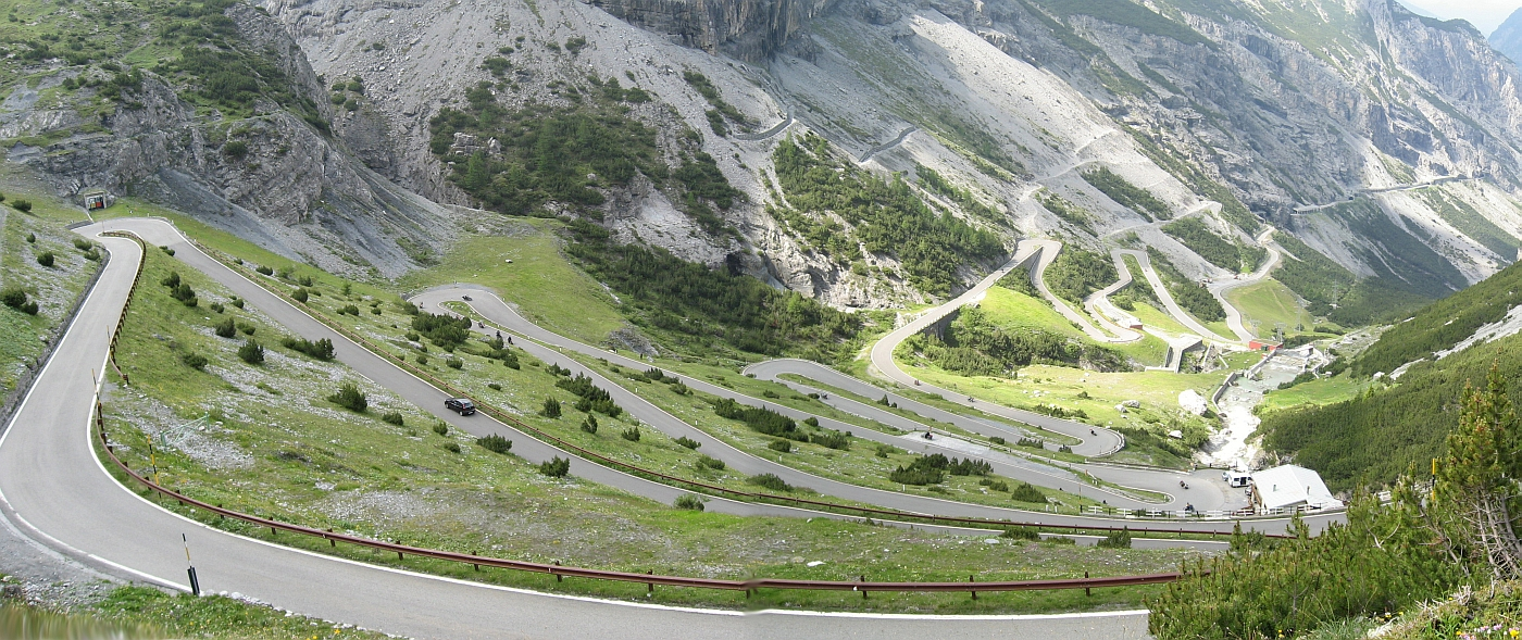 8) The Stelvio Pass, the Italian Alps 2