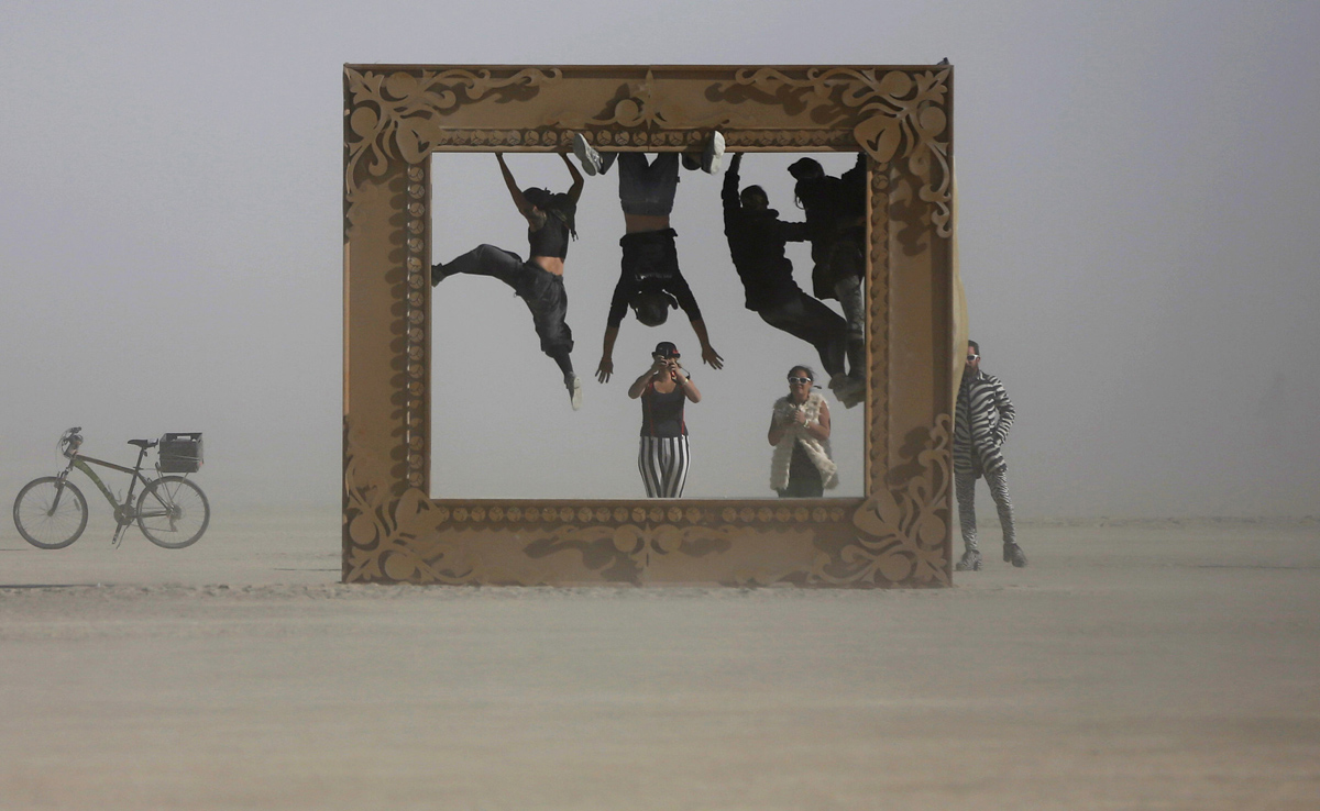 See Crazy, Surreal Photos and Videos from Burning Man 2015 11